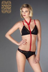 Armee des Sens String m. Harness Maison Close