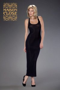 Bellevue Black Kleid Maison Close