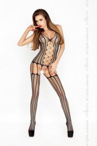Bodystocking BS013 schwarz Passion
