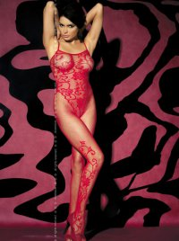 Bodystocking F205 rot Obsessive