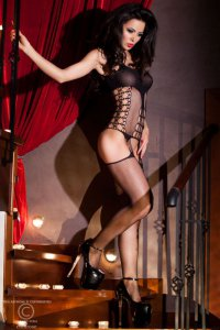 Bodystocking schwarz CR4053 Chilirose