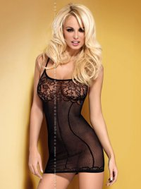 Dress D204 schwarz Obsessive