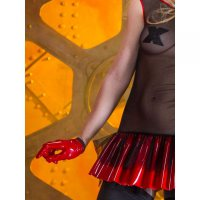 Molly Gloves Red Patrice Catanzaro - M