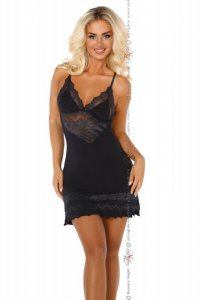 Petra Chemise schwarz Beauty Night Fashion