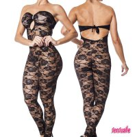 Salameleque ouvert Catsuit Sensualle