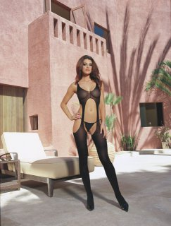 Bodystocking ouvert 0031 schwarz Dreamgirl