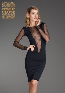La Directrice Kleid Maison Close