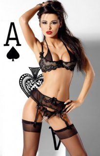 V-1838 String ouvert Trump Card Axami