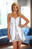 Alexandra Chemise weiss Beauty Night Fashion