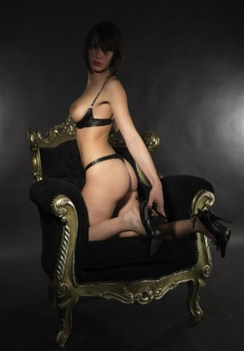 Annabelle String ouvert Wetlook Patrice Catanzaro