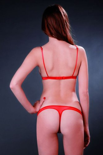 Chaperon Rouge String Maison Close*