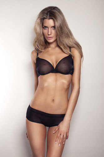 Gossard Glossies Moulded BH Black