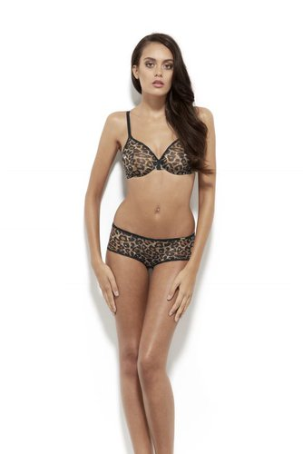 Gossard Glossies Leopard Moulded BH Animal Print