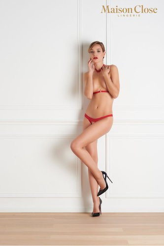 Tapage Nocturne rouge Harness Maison Close