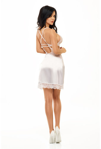 Adelaide Chemise weiss Beauty Night Fashion
