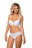 Roza-Sefia weiss Push Up BH