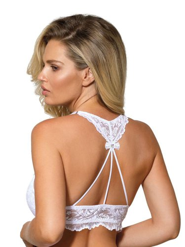 Roza-Sefia weiss Push Up BH 70A