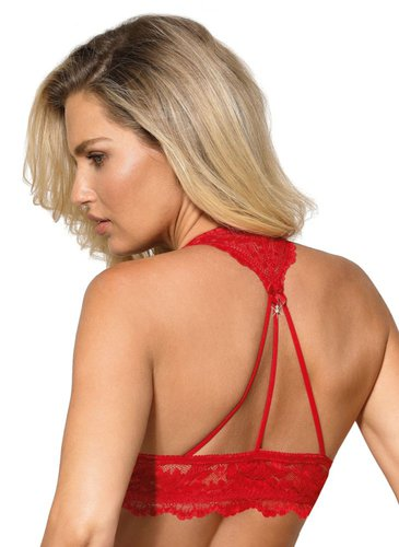 Roza-Sefia rot Push Up BH