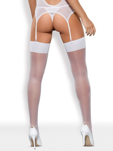 S800 Stockings weiss Obsessive S/M
