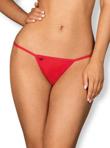 Giftella String rot Obsessive S/M
