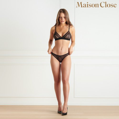 Accroche Coeur Triangle BH Maison Close