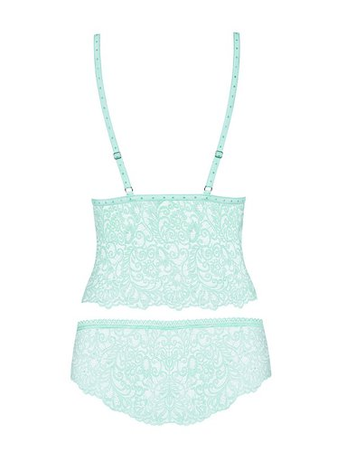 Delicanta Top & Panties mint Obsessive